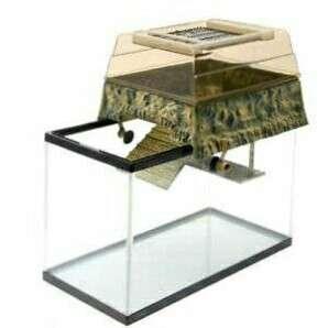 Penn Plax Turtle Tank Topper – Above-Tank Basking Platform for Turtle Aquariums