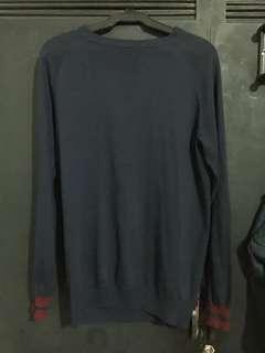 f&h Navy Blue Sweater