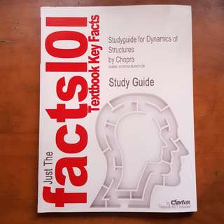 (Giveaway) Study Guide for Chopra Structural Dynamics
