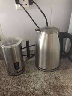 Kettle & Milk Frother/Heater