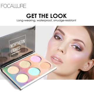 Focallure 6 color highlighter