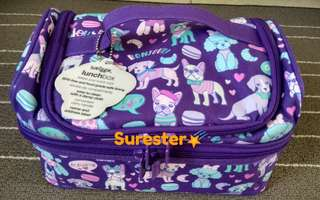 Smiggle Snaps Double Decker Lunchbox