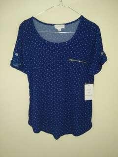 Polkadot blouse by workshop