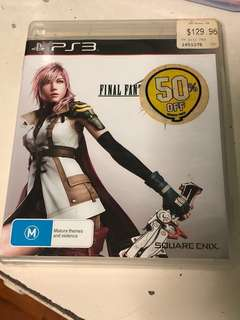 PFinal fantasy XIII PS3 Game