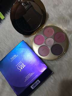 Tarte Rainforest of the sea kiss & blush - cream cheek & lip palette