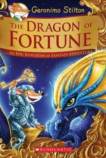 (BN) Geronimo Stilton Hardcover The Dragon of Fortune