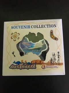杯墊 一盒6塊 Coaster - Australia