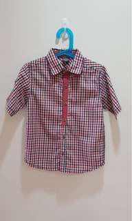 Pre-loved: Red short sleeve shirt