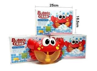 🚚 小螃蟹泡泡製造機