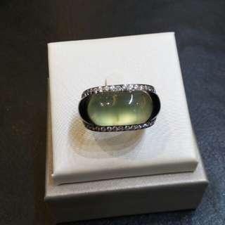 18K 黑金葡萄半寶石'鑽石介子