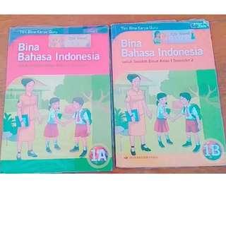 Free Gifts Buku Pendidikan Bahasa Indonesia 1A dan 1B - kelas 1 SD