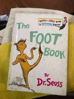 The Foot Book Dr. Seuss