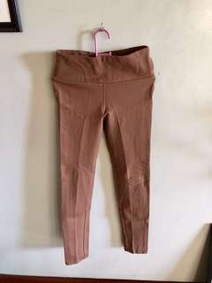 Soul Lifestyle Brown High-waisted Jeggings