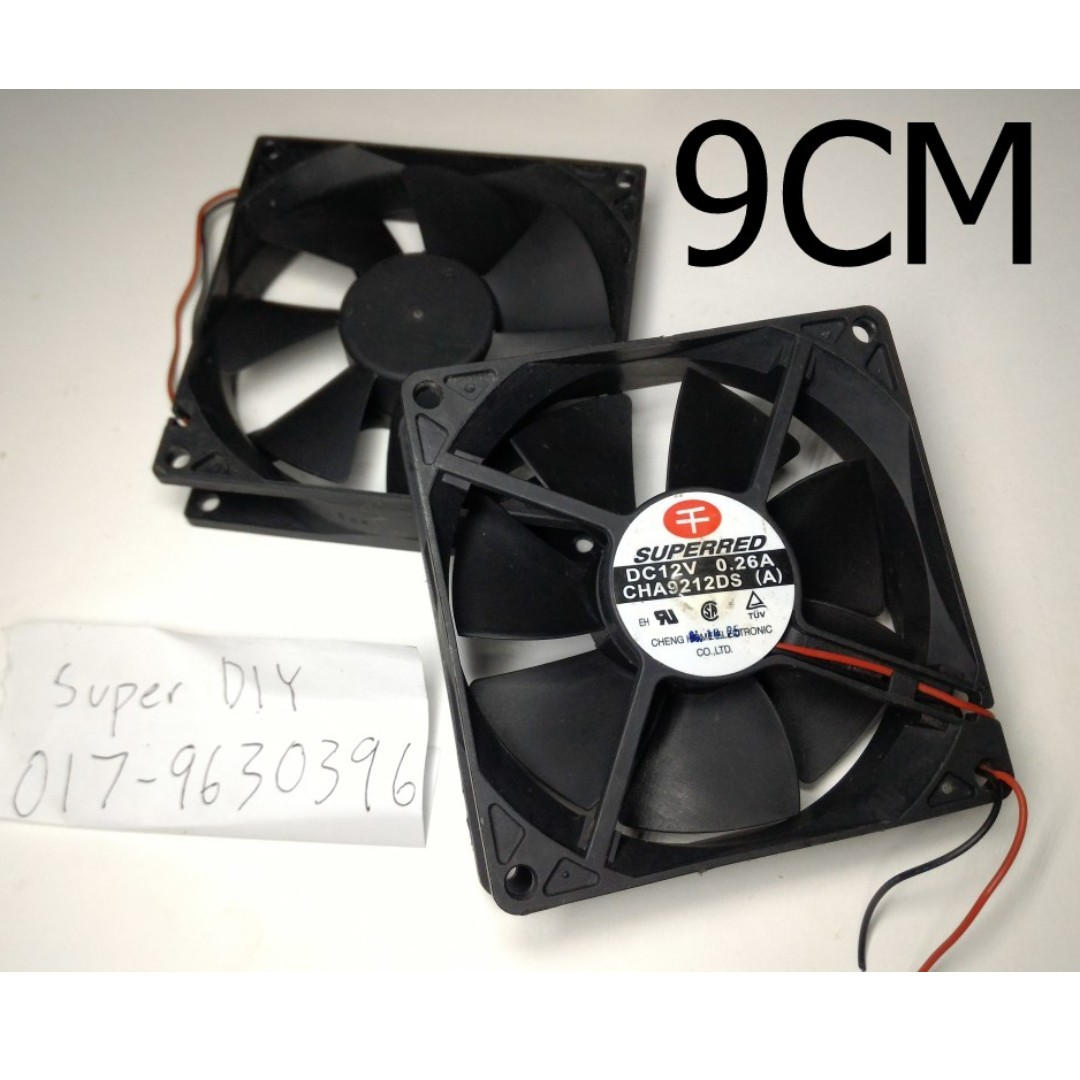 12v Magnetic Cooling Computer Fan Pc Diy 909025mm Electronics Electric Photo