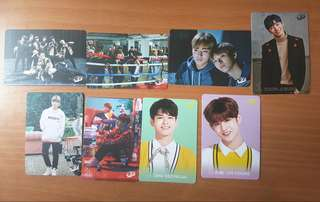 Wanna One Yes card 8張 set 1(daniel ong 志聖)