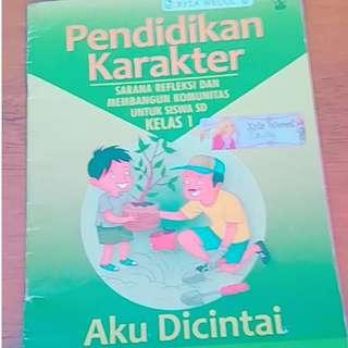 Free Gifts Buku Pendidikan Karakter - kelas 1 SD