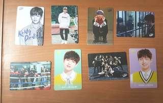 Wanna One yes card 8張 set 2(daniel 大輝 在奐)