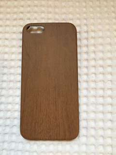 Wood patterned phone case / iPhone 5/5s/SE