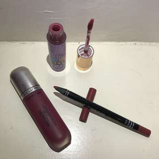 Bundle of Make up (Lips)