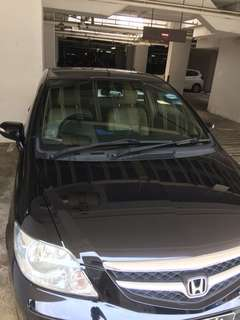 Car rental Honda City (Manual)