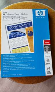 HP professional paper A4 12gsm glossy