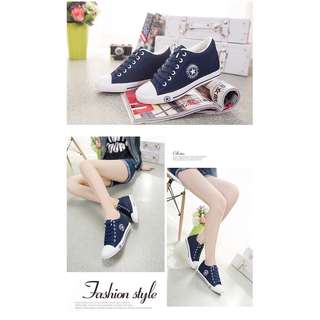 Korean style women casual shoes (height increasing)
