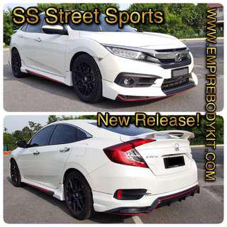 Honda Civic 2018 SS Styling Bodykit