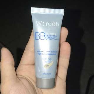 bb cream wardah (light)
