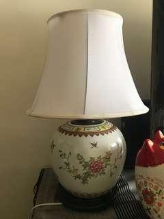 Bedside lamp porcelain
