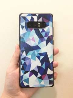 Mermaid and Geometric Phone Case NOTE 8 💕