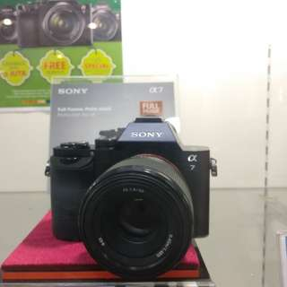 Kamera Sony Alpha 7 Full Frame New Kredit Tanpa Kartu Kredit