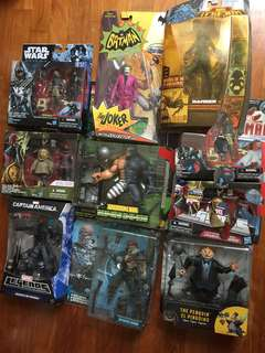 Dc marvel legends Star Wars spawn