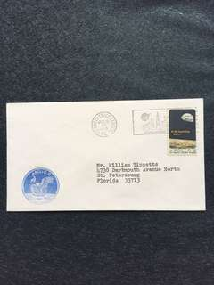 US 1969 Apollo 11 Launch Jul16 Cachet Kennedy Space Center Cancel Space Cover