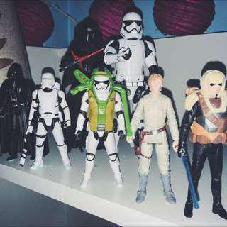 STAR WARS Action figure.