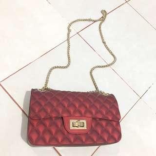Jelly Bag maroon
