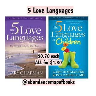 (ebook) The Five Love Languages Book by Gary Chapman