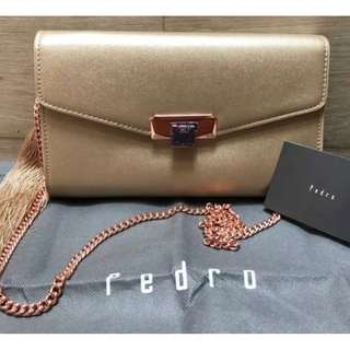 Pedro Sling Tassel Clutch  Bag