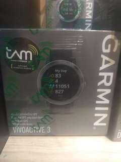 Garmin Vivo Active 3 Black Kredit mudah proses 3 menit