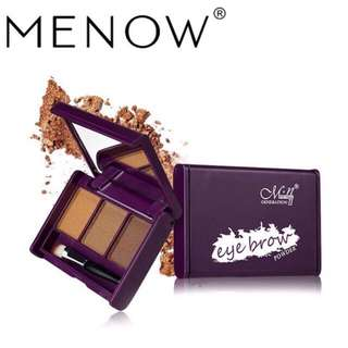 New menow 3 in 1 eyebrow powder