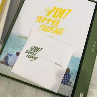 BTS SUMMER PACKAGE 2017 UNSEALED READYSTOCK