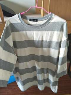 Striped shirt (negotiable)