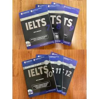 IELTS Books (DVD included)