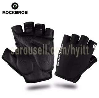 RockBros half finger gloves