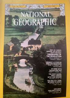*絕版*  1974年7月出版 國家地理雜誌 National Geographic Magazine printed Jul 1974