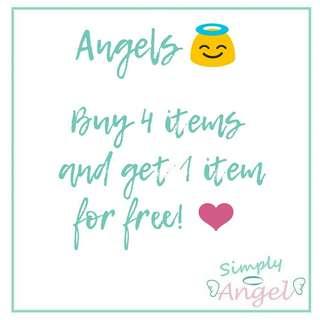 Buy 4 get 1 free! ❤