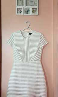 Zalora White Dress