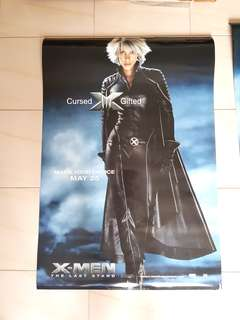 X-Men Promotion Character Poster The Last Stand 2006 - She is a Marvel legend not DC