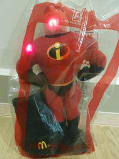 Sales! Mr Incredible with lights signal (2004 McDonald's Collection: rare)