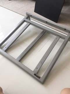 Turntable wall shelf (target)