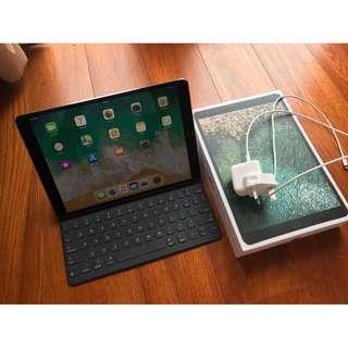 Apple iPad Pro 10.5 WIFI 256GB太空灰 連smart keyboard applecare 2019年2月